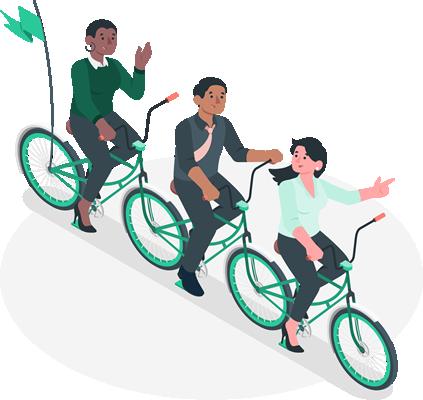 La motivación es importante y es más poderosa en comunidad. Es por ello que tu plan de beneficios incluye la posibilidad de crear grupos de meditación para definir objetivos y desafíos diferentes para cada equipo.