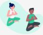 Posiciones para meditar