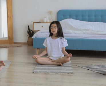 Meditación guiada para niños